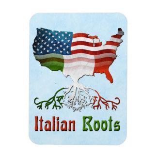 Italian American Roots Flexi Magnet