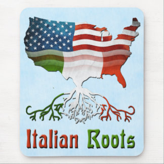 Italian American Roots Mousemat Mouse Pad
