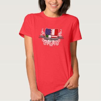 Italian-American Shield Flag Shirt