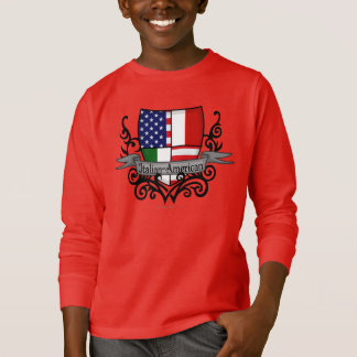 Italian-American Shield Flag T-Shirt
