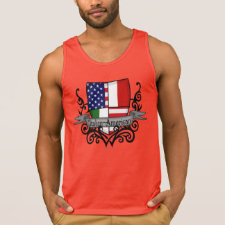 Italian-American Shield Flag Tank Top