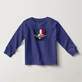 Italian-American Shield Flag Toddler T-shirt
