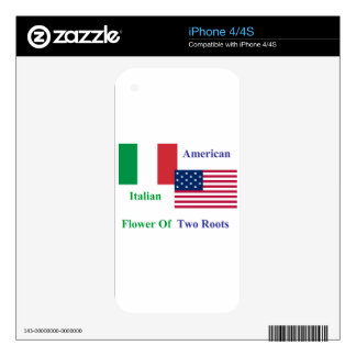Italian-American Decal For The iPhone 4S