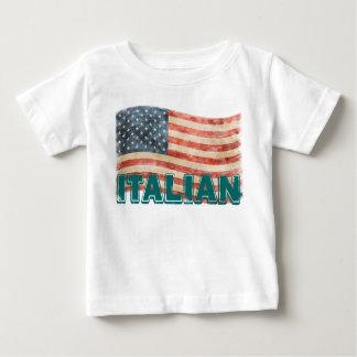 Italian American Vintage Look Baby T-Shirt