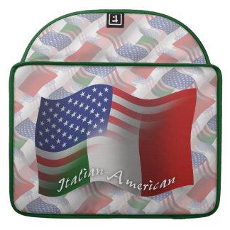 Italian-American Waving Flag Sleeves For MacBooks