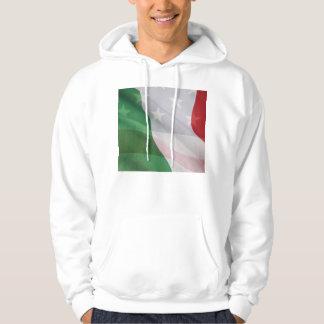 Italian and USA flags Hoodie