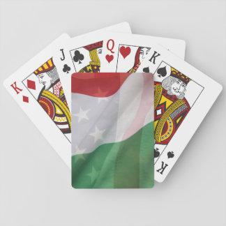 Italian and USA flags Card Decks