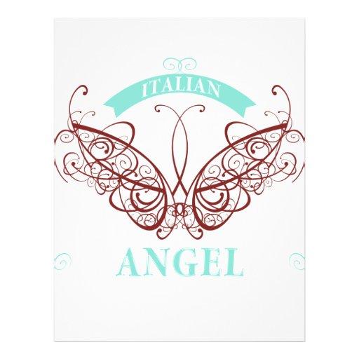 "Italian Angel 8.5"" X 11"" Flyer"