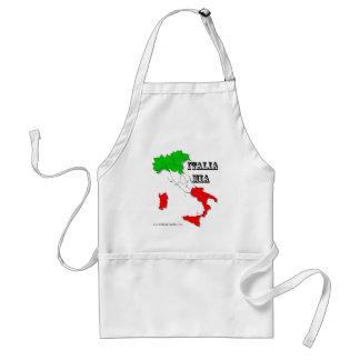 Italian Apron - tricolore