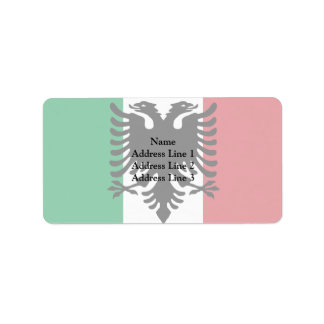 Italian Arberesh, Italy flag Personalized Address Labels