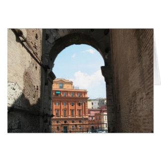 Italian Arch Card