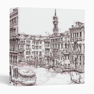 Italian architecture drawings 3 ring binder