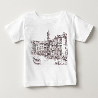 Italian architecture drawings baby T-Shirt