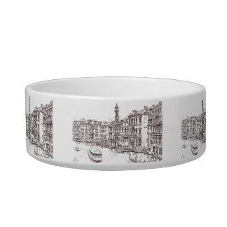 Italian architecture drawings bowl