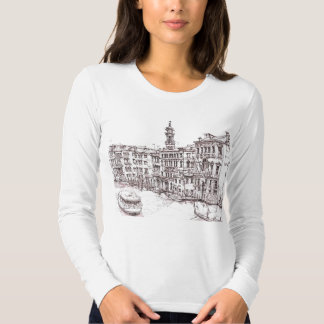 Italian architecture drawings T-Shirt