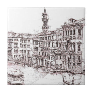 Italian architecture drawings tile