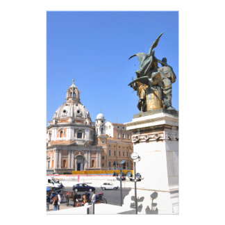 Italian architecture in Rome, Italy Stationery