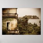 Italian Architecture on Lake Maggiore Poster