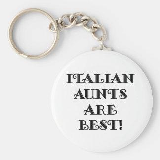 Italian Aunts Are Best Keychain