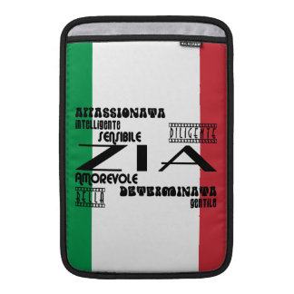 Italian Aunts : Qualities MacBook Sleeve