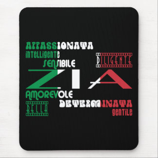 Italian Aunts : Qualities Mouse Pad