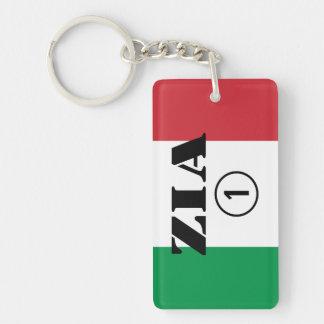 Italian Aunts : Zia Numero Uno Keychain