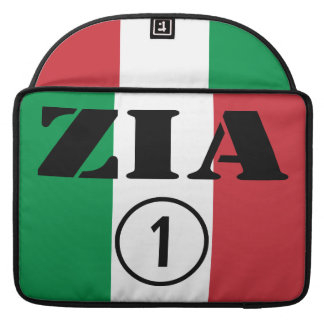 Italian Aunts : Zia Numero Uno Sleeve For MacBooks