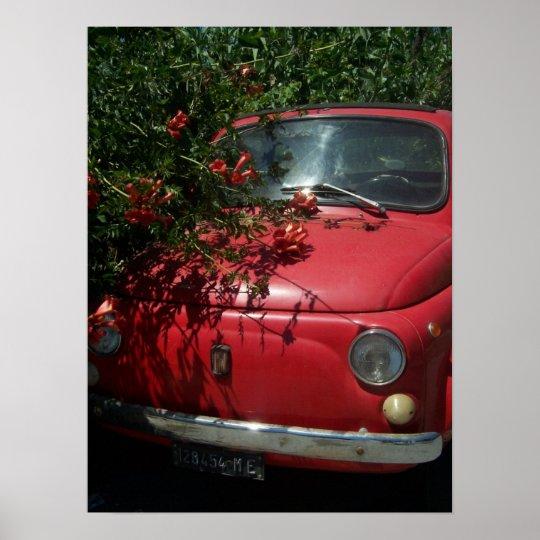 Italian Automobile Poster