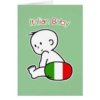 Italian Baby Card
