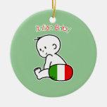Italian Baby Christmas Ornament