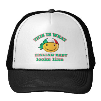Italian baby designs trucker hat
