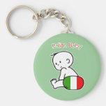 Italian Baby Keychain