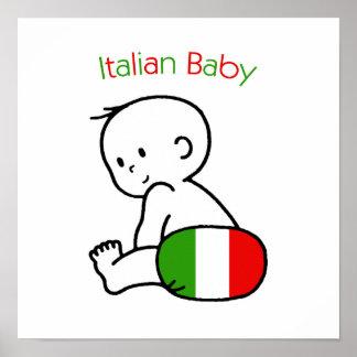 Italian Baby Poster