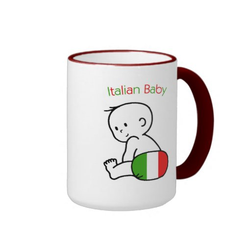 Italian Baby Ringer Coffee Mug