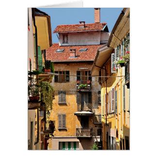 Italian Balconies Card