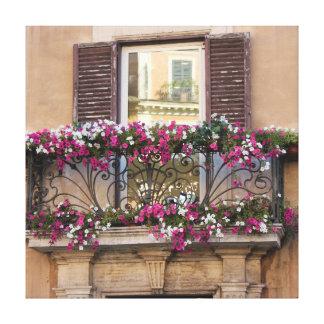 Italian Balcony Canvas Prints
