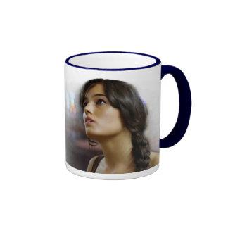 Italian Beauties Ringer Mug