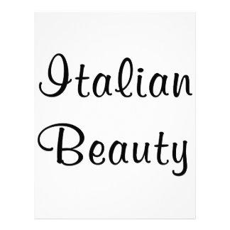 Italian Beauty Letterhead
