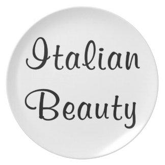 ITALIAN BEAUTY PARTY PLATES