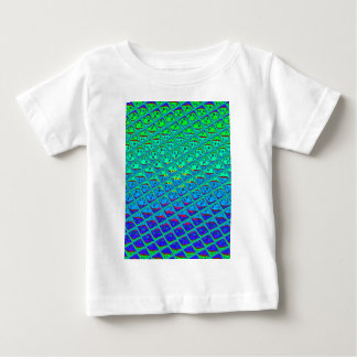 Italian Blend of Blue Tiles.png Baby T-Shirt