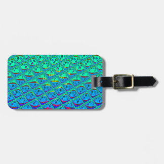 Italian Blend of Blue Tiles.png Tag For Luggage