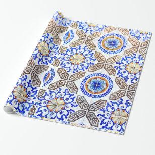 Mosaic Wrapping Paper Zazzle