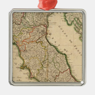 Italian Boarder Coutries Metal Ornament