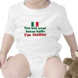 Italian Bocce Balls Baby Bodysuits