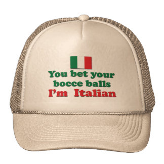 Italian Bocce Balls Trucker Hat