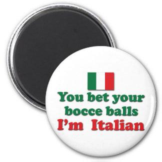 Italian Bocce Balls Magnet