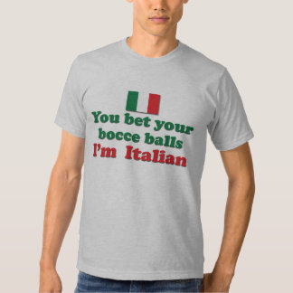 Italian Bocce Balls T Shirt