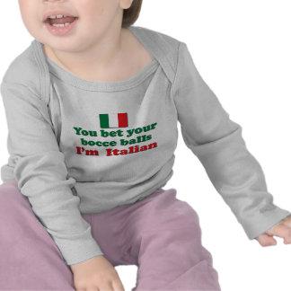 Italian Bocce Balls Tees