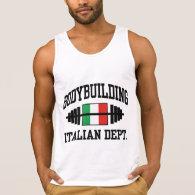 Italian Bodybuilding Tanks