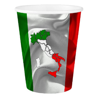 Italian boot paper cup